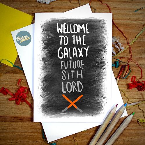 Future Sith Lord - A6 Card