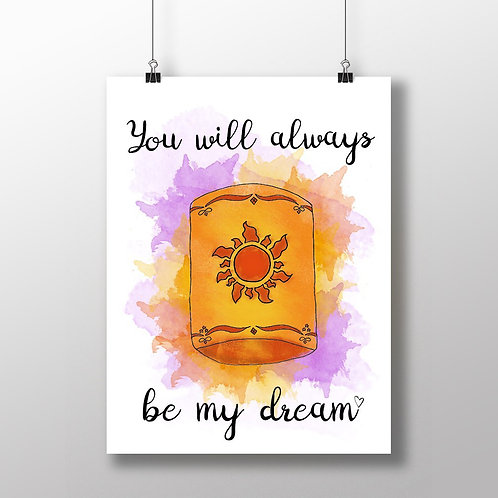 My Dream - A4 Print
