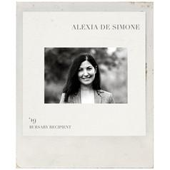 ALEXIA DE SIMONE