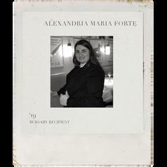 ALEXANDRIA MARIA FORTE