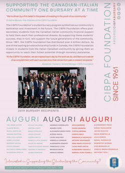 Bursary 2019 - Panoram Italia