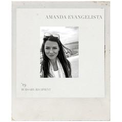 AMANDA EVANGELISTA