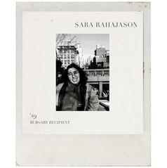 SARA RAHAJASON