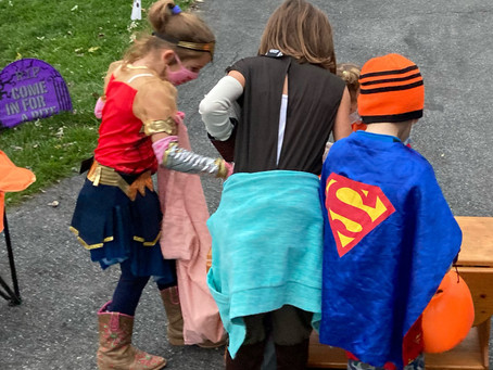 Why We Let the Kids Trick or Treat