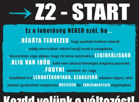 ÚJRA! Z2 - START program szeptember 11-től