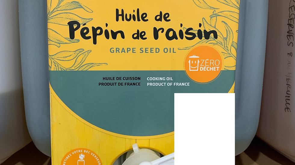 Huile de pépin de raisin