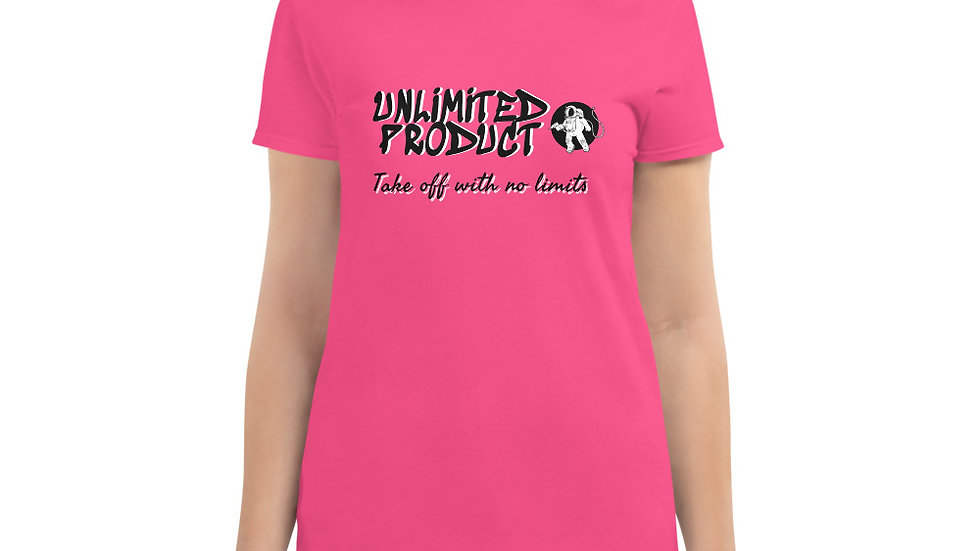 Women's short sleeve Unlimited Product t-shirt