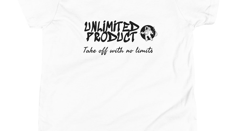 Youth Short Sleeve Unlimited Product T-Shirt