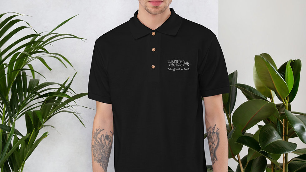 Embroidered Unlimited Product Polo Shirt