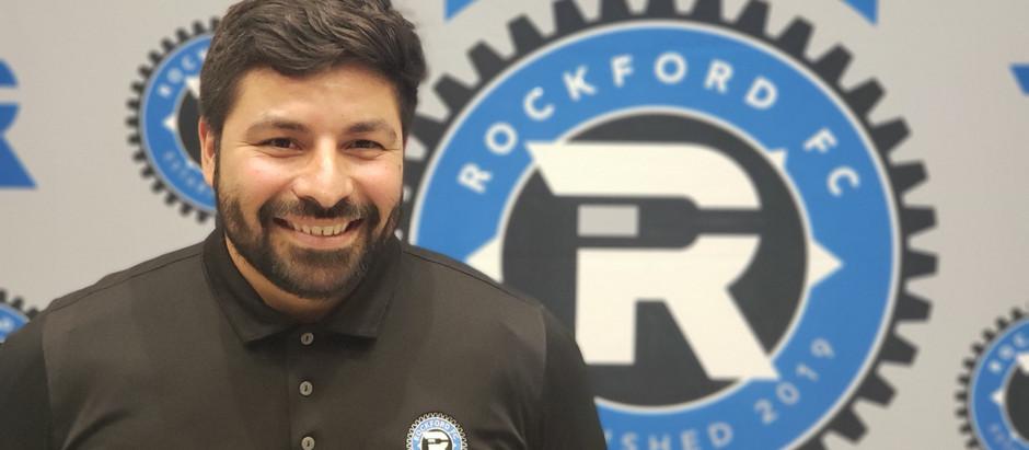 Rockford FC adds GK coach Nick Roman to staff