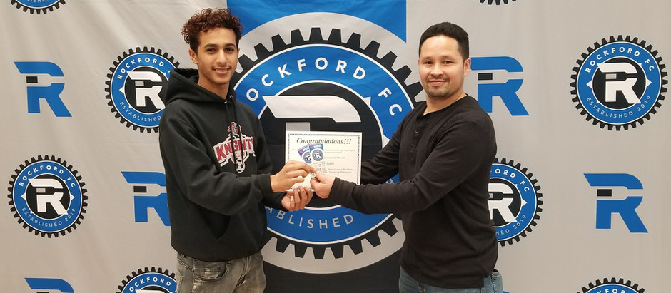 Auburn High School student wins Rockford FC season tickets