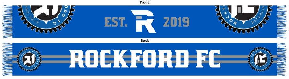 RFC Gear Logo Est. 2019 Scarf