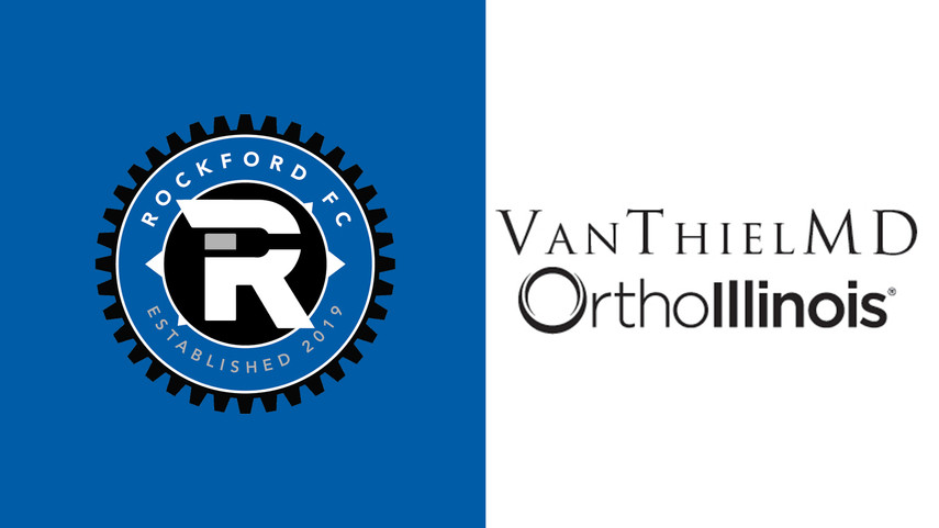 Rockford FC Announce Geoffrey Van Thiel, MD of OrthoIllinois as Front of Jersey Sponsor