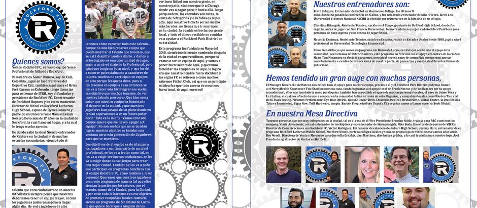 Luz Latina Revista: Nuevo equipo esperando por el apoy de todos