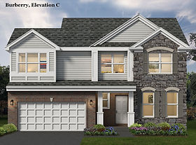 North Mark Homes Burberry single family home plan