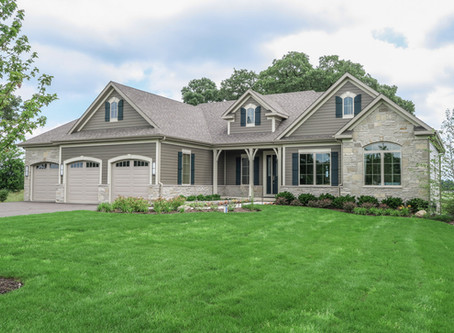 The New Montana Ranch Model at Pioneer Oaks Community in Ringwood IL