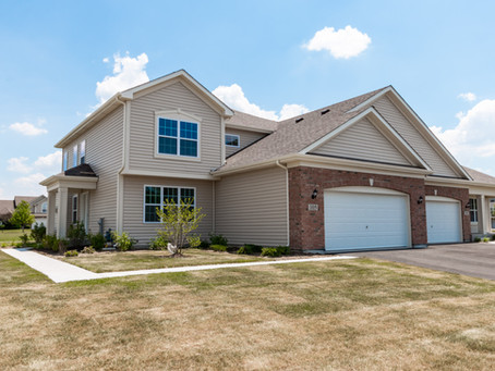 New Ranch & Two-story Duplex Homes Now Available in Gilberts IL