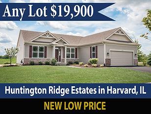 Lot Sale at Huntington Ridge Estates in Harvard Illinois