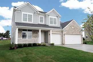 Two-story single family home exterior