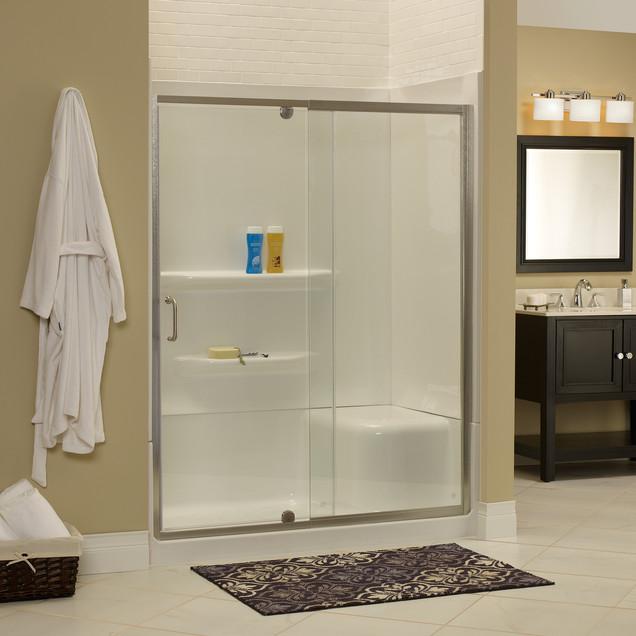 COVE FRAMELESS SHOWER DOOR & PANEL DOORS