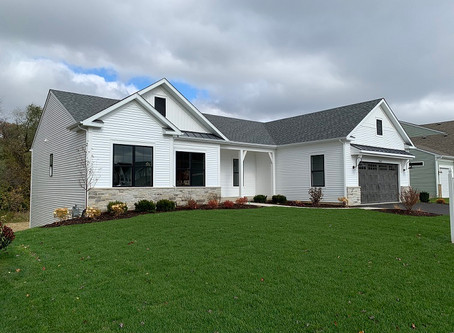 Builder ranch model now for sale at running brook farm in johnsburg IL
