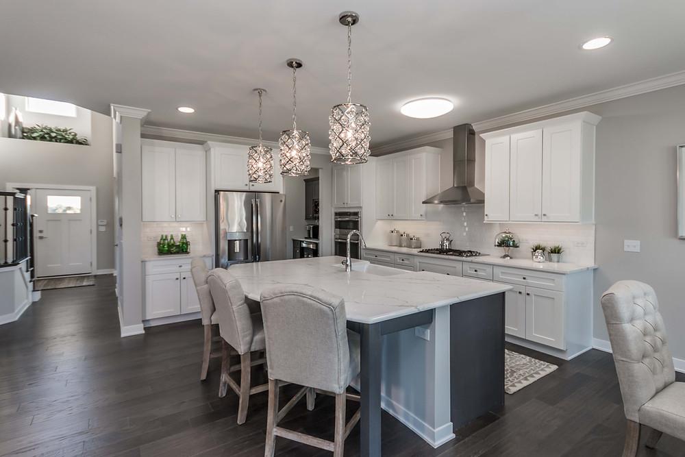 Designer kitchen in Cambria Home Plan