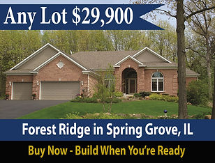 Community Lot Sale at Forest Ridge in Spring Grove Illinois