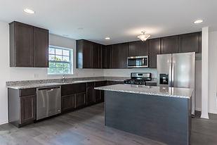 Ranch Duplex Home Kitchen
