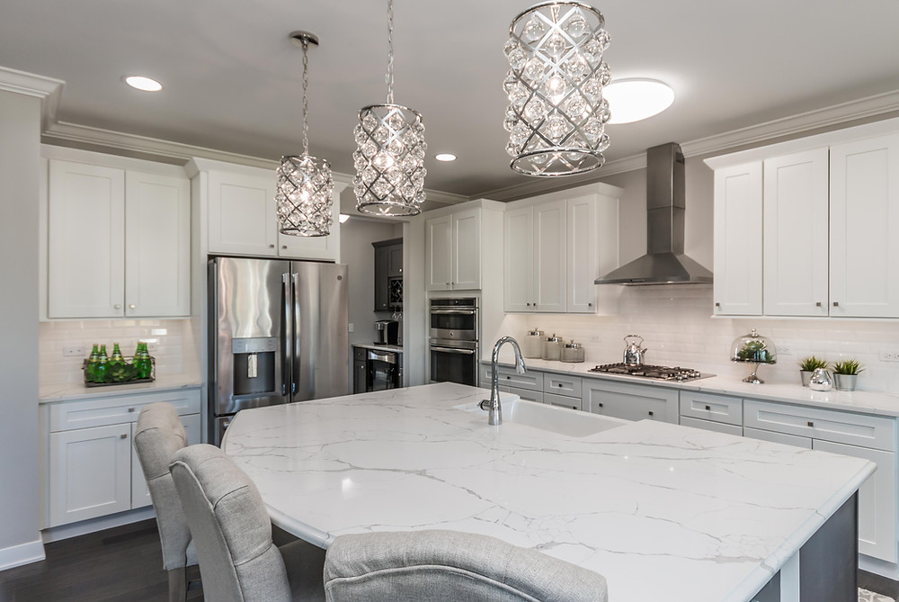 Kitchen of Cambria Model by North Mark Homes