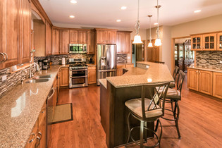 McHenry Kitchen Remodel Oak Cabinetry.JP