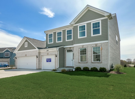 The Waterford Two-story - Now Available for Quick Move-in at Springfield Pointe in Bloomingdale IL