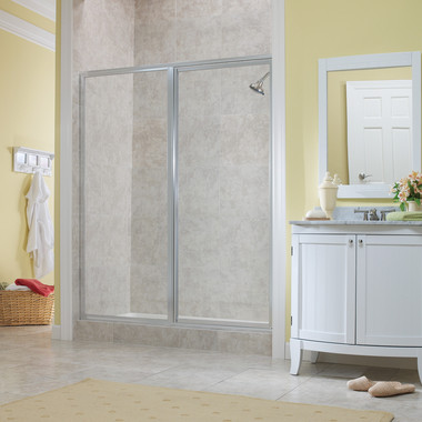 TIDES FRAMED CONTINUOUS HINGE DOOR & PAN