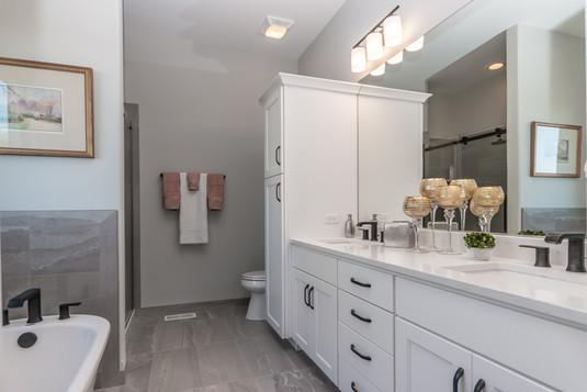 Harrison model home new bathroom