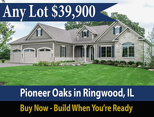 Special offer buy lot and build a new home later at in Ringwood Illinois