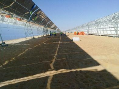 Shams-1 100MW Solar Power Plant | Madinat Zayed