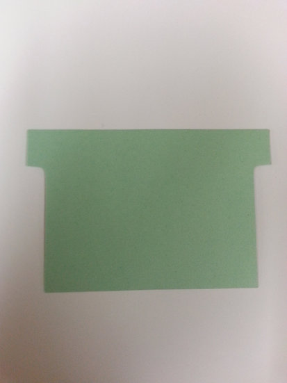 #3 1/2 SIZE T-CARDS, BLANK, 500 pack (choose color)