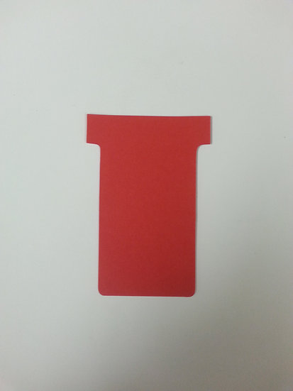 #2 SIZE T-CARDS, BLANK, 500 pack (color)