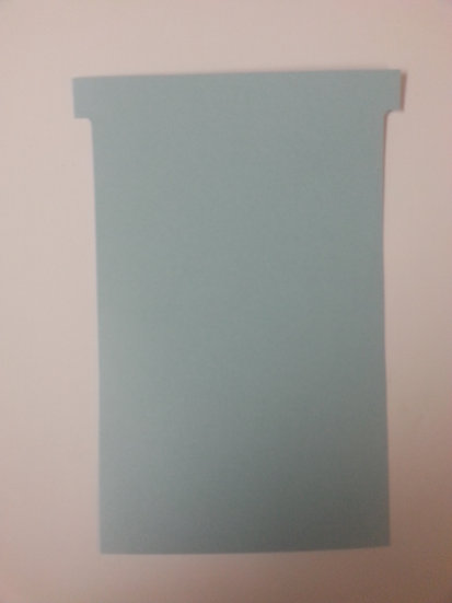 #4 SIZE T-CARDS, BLANK, 500 pack (color)