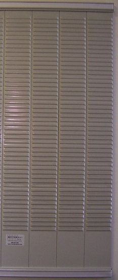 3430- #3 size T-card rack, 120 card capacity