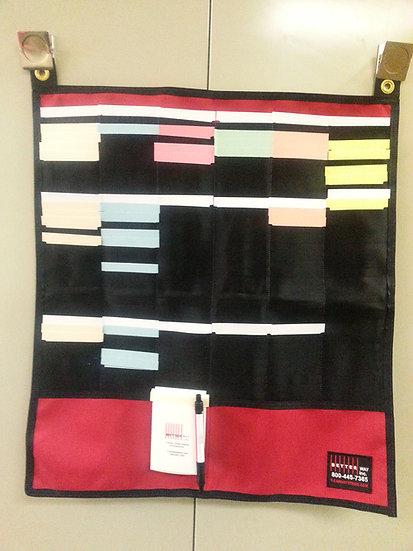Canvas T-card rack- fold and go!