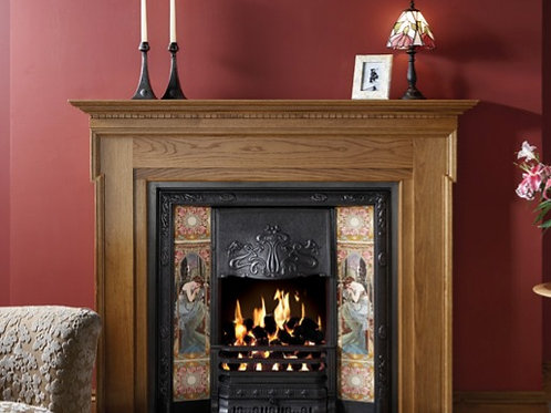 Carlton Wood Mantel by Stovax