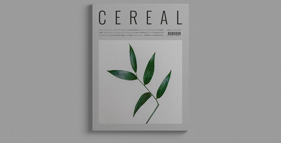 Cereal Magazine - Vol 15