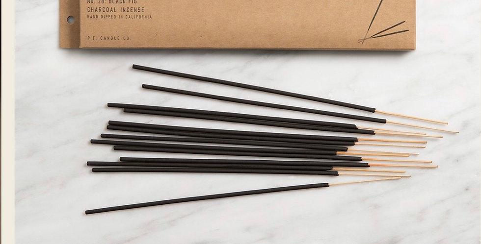 P F candle company - black fig Insense sticks