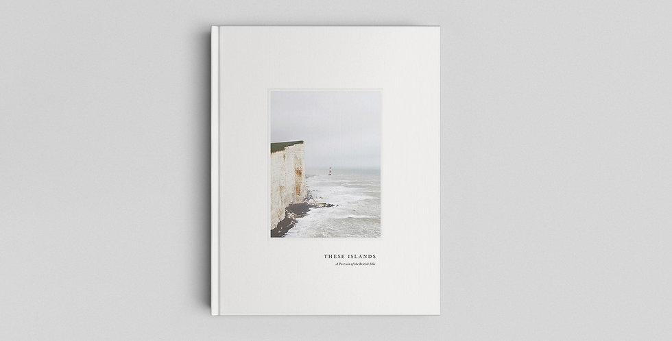 CEREAL BOOK - THESE ISLANDS -  A portrait of the British isles