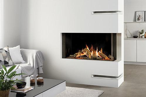 Reflex 105 Multi-Sided Gas Fires by Gazco