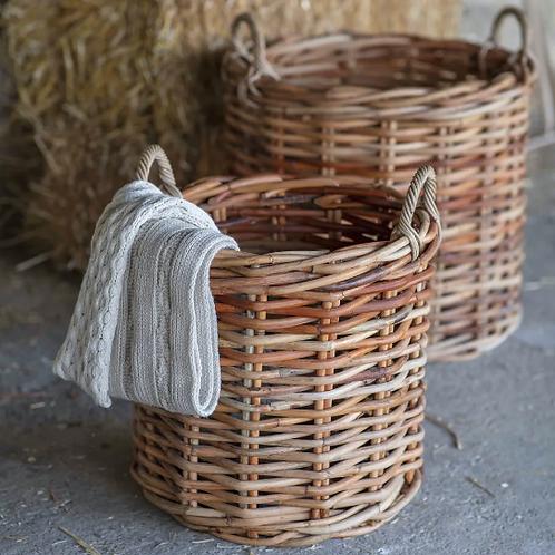 Garden Trading Rattan Norton Basket - Small
