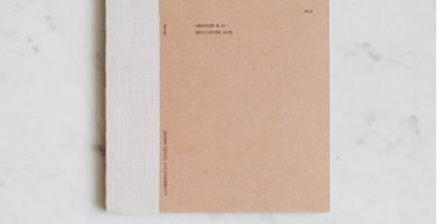 Utility Notebook - Medium - Plain - Pink
