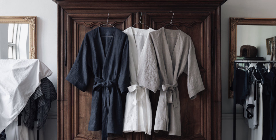 Lovely Linen - Kimono - pre order / 10 day delivery