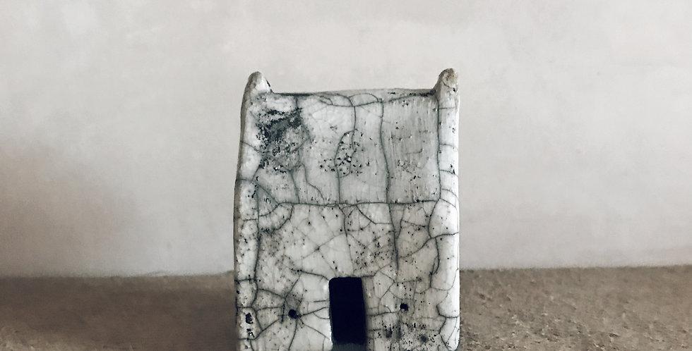 Little Raku house - white