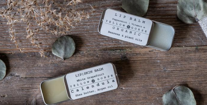 Organic Lip Balm - Shea and Calendula